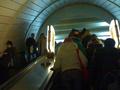 В Киеве на станции метро Золотые ворота женщина упала с эскалатора