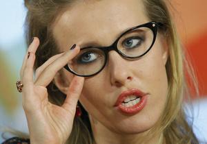 Ксения Собчак: Табачник совсем плох