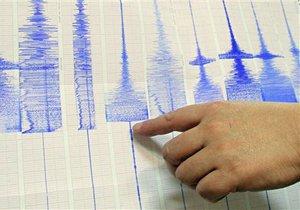 На границе с Украиной землетрясение