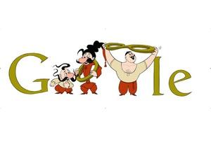 Анимационный logo GOOGLE