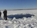 На дне озера Чебаркуль обнаружили воронку от падения метеорита