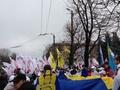 На митинг оппозиции в Киеве пришли около пяти тысяч человек