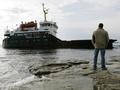 В Черном море сел на мель российский сухогруз