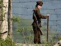 КНДР строит на границе с Южной Кореей баррикады из бревен