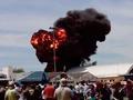 На авиашоу в Мадриде разбился самолет. Погиб пилот