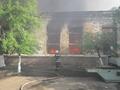 В Киеве ликвидирован пожар на складе: жертв и пострадавших нет