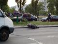 В Киеве 19-летний водитель скутера сбил на переходе ребенка