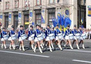 Новости Киева - новости Киева - День Европы - Парад барабанщиц открыл День Европы в центре Киева