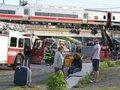 Стала известна причина столкновения поездов в США