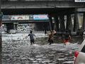 Уязвимое место. Улицы близ станции метро Левобережная в Киеве снова затопило