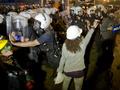 Сотни демонстрантов вновь собрались на площади Таксим