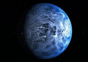 Би-би-си: Голубая планета, где идут дожди из стекла
