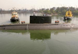 В Индии затонула подводная лодка российского производства.