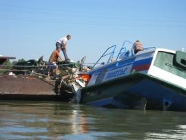 Новые подробности крушения теплохода на Иртыше