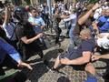 Один из обвиняемых в избиении журналистов Сницарчук и Соделя объяснил, почему отказался от мировой