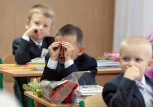 Новости Украины - Происшествия в Украине - Минобразования - школа - 1 сентября - Первый раз в первый класс в этом году пойдут почти 450 тысяч школьников