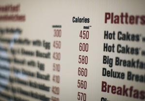 Подсчет калорий часто неточен - эксперты