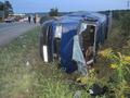 На Закарпатье перевернулся автобус: один человек погиб, восемь пострадали