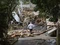 В Японии продолжаются поиски более 40 пропавших без вести после сильнейшего тайфуна