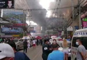 Стиль жизни - Путешествия - Пожар Паттайе тушат 30 пожарных расчетов