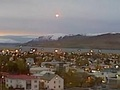 В небе над Исландией местный житель зафиксировал НЛО