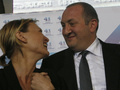 Предварительные подсчеты на выборах в Грузии отдают уверенную победу противнику Саакашвили