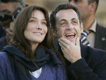 Карла Бруни, Николя Саркози.  Фото АР.