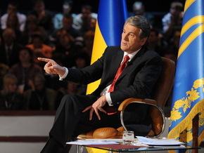 Ющенко хочет возобновить языковую справедливость.