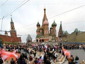 Опрос: Россияне мечтают о возрождении великодержавной мощи