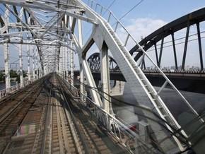 К Новому году в Киеве заработает Дарницкий мост