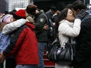 Поцелуй в Нью-Йорке