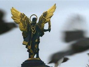 Новый герб Киева будет с короной и плащем