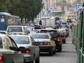 В Киеве ограничали движение транспорта по тринадцати улицам