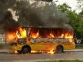В центре города сгорело маршрутное такси. Пострадавших нет