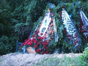 В Киеве похоронили сына Анны Герман
