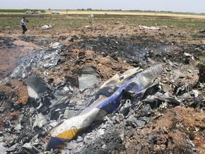 На месте крушения Ту-154 в Иране.  Фото AP.  Пассажирский самолет Ту.