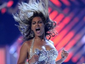 ������� ����� ���������� �� 9 ������ MTV Video Music Awards. ����: ��.