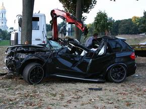 BMW съехал с проезжей части. Водитель погиб