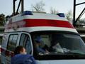 В Запорожье мужчина в бешенстве напал на машину скорой помощи