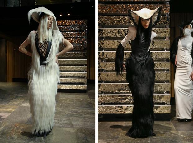 Дизайнер Чарли Ле Минду представил в Киеве одежду из человеческих волос (фото)