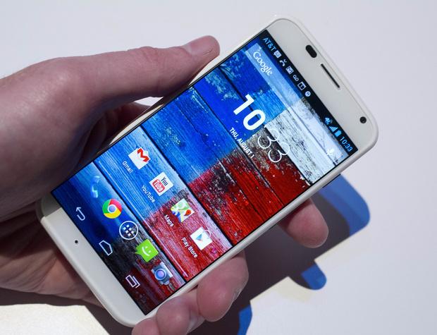 Motorola и Google представили суперсмартфон Moto X
