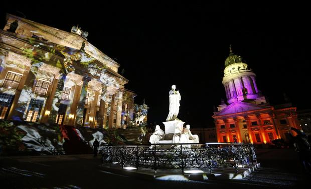 В Берлине проходит Фестиваль света