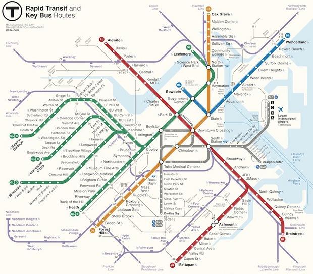 Метрополитен Бостона