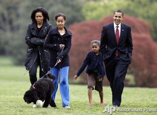 Обама и его маленький Бо