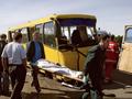 В Киеве столкнулись две маршрутки Богдан. Трое пассажиров травмированы