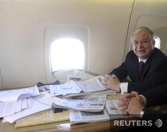 Президент Польши разбился в самолете
