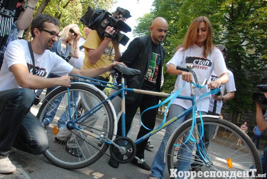 велосипед януковичу
