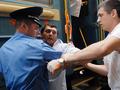 Не голубой вагон. Акция в поддержку российской оппозиции на киевском вокзале