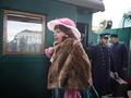 Музей прибывает на первую платформу. Уникальный ретропоезд на киевском вокзале