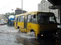 Как из ведра. Сильный дождь затопил улицы Киева